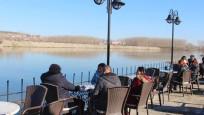 Edirne'de kış günü yaz sıcakları