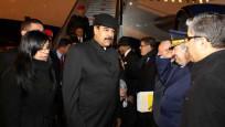 Maduro Türkiye'ye geldi