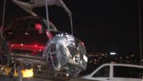 Köprüde zincirleme kaza: Yaralılar var