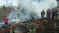 Tokat'ta yangında 3 çocuk öldü