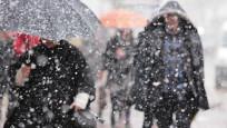 Balkanlardan kar geliyor!