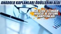 Anadolu'nun en iyi 30 şirketi ödüllerini aldı