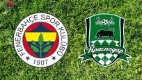 İşte Fenerbahçe'nin Krasnodar 11'i