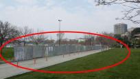 Fenerbahçe sahili çevrilmeye başlandı