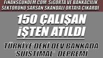 Türkiye'deki dev bankada 'suistimal' çıkarması