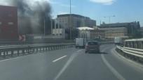 İstanbul'da yangın