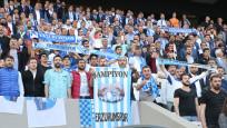 Erzurumspor şampiyon olarak 1. Lig'e yükseldi!