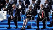 NATO Zirvesi'nden dikkat çeken kareler