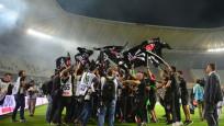 Gaziantep'te Beşiktaş'ın şampiyonluk coşkusu