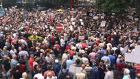 İşte Kılıçdaroğlu'nun adalet yürüyüşünden ilk görüntüler