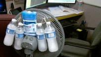 48 derece sıcaklıkta ne yapacaklarını şaşırdılar