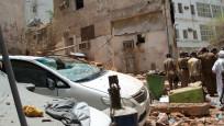 Mekke'de terör operasyonu! Canlı bomba kendini patlattı
