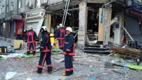 Bakırköy'de korkutan patlama