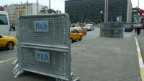 Taksim'de polisten yoğun güvenlik önlemi