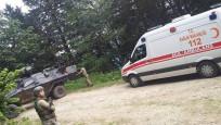 Trabzon'da askerlere bombalı saldırı