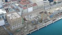 Galataport'ta yıkım işlemleri neredeyse tamamlandı