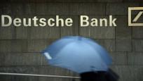 Deutsche Bank gerginlikten etkileniyor