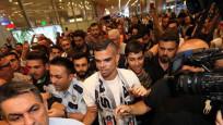 Beşiktaş'ın yeni yıldızı Pepe İstanbul'da