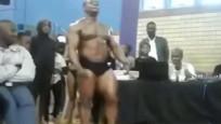 Şampiyon sporcu izleyicilerin önünde can verdi!