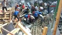 Hatay'da okul inşaatında göçük meydana geldi