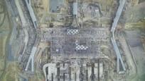 İstanbul 3. Havalimanı uzaydan görülüyor