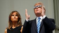 Trump'ın güneş tutulması heyecanı
