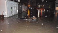 Zonguldak'ta sağanak yaşamı olumsuz etkiledi