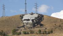 Uzaydan görülen dev Atatürk portresi yenileniyor