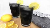 İşte kömürden yapılan siyah limonata