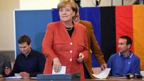 Almanya'daki seçimlerde ilk sonuçlar belli oldu