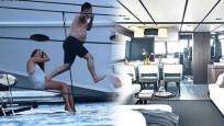 Cem Yılmaz'ın yeni teknesi otel gibi