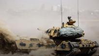 Tanklar sınırı geçtiler