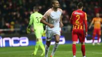 Galatasaray, Kayseri deplasmanını rahat geçti