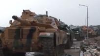 Zeytin Dalı'nda 4'üncü gün! Tanklar zırh delici toplarla vuruyor