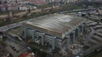 Abdi İpekçi Spor Salonu'nun yıkımına başlandı