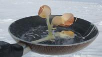 Eksi 70 derecede Antarktika'da yemek yapmak