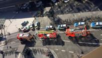 Almanya'da tren istasyonunda rehine krizi