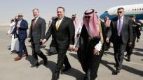 Pompeo Suudi Arabistan'da
