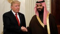 Trump'la görüşen Selman o iddiaları yalanladı