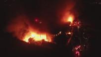 Bursa'da Kayapa Sanayi Bölgesi'nde yangın