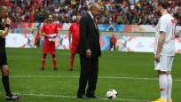Cumhurbaşkanı Erdoğan başlattı, maç gollü sona erdi