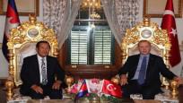 Cumhurbaşkanı Erdoğan, Kamboçya Başbakanı Hun Sen'i kabul etti