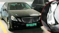 Otoparktaki siyah Mercedes'in sırrı