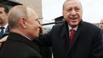 Cumhurbaşkanı Erdoğan ile Putin'den samimi sohbet