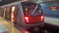 Ankara metrosunda intihar! Seferler durdu