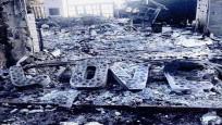 Miley Cyrus ve Liam Hemsworth'ün yanan evinden kalan son fotoğraf