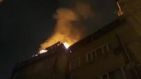 Beyoğlu'nun dar sokaklarında yangın paniği