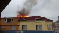 Şişli'de yangın