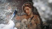 Zeus'un kuğu kılığında duvar resmi bulundu