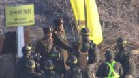 İki Kore arasındaki sınır muhafızları el sıkıştı